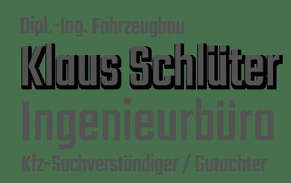 Dipl.-Ing. Klaus Schlüter
